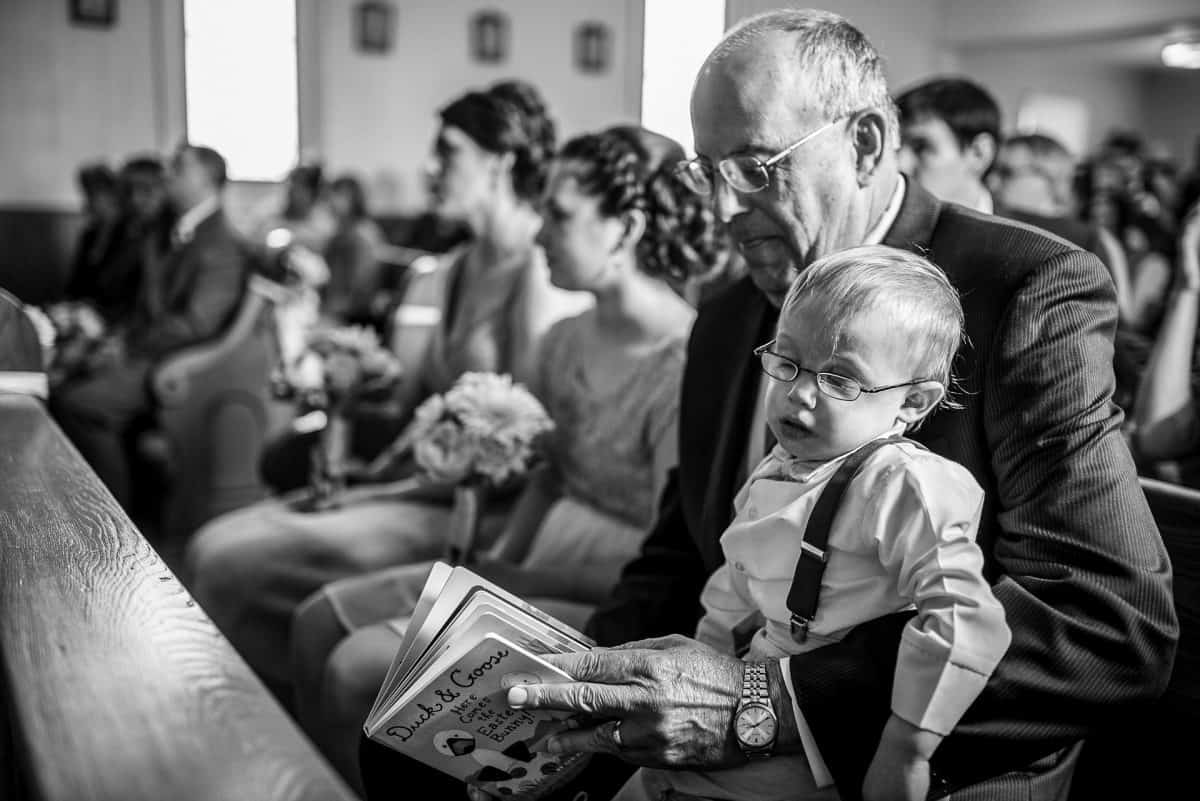 Documentary Wedding Photographers Sleepy Child