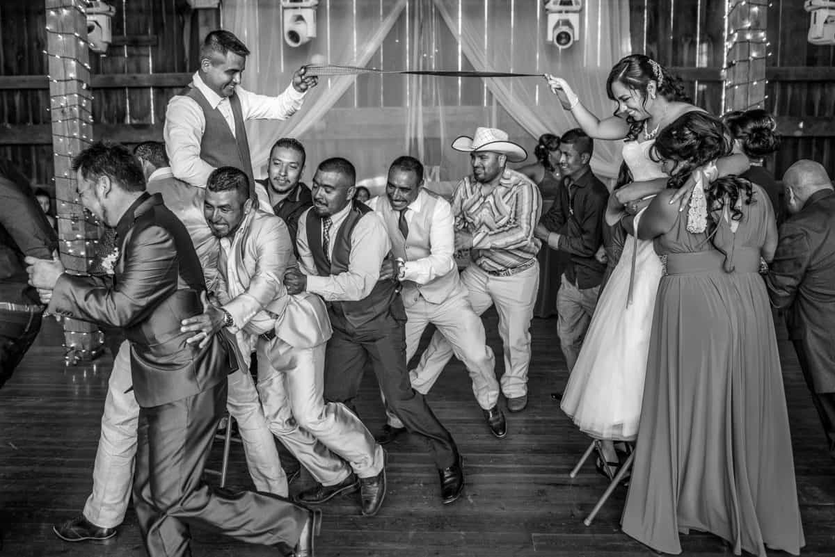 Madison Wedding Photographers Mexican Dance Floor