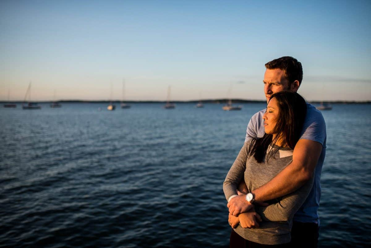 Engagement Photos Madison WI Sunset Union