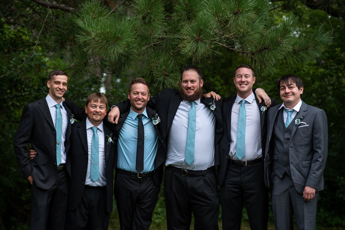 Portrait of the groomsman