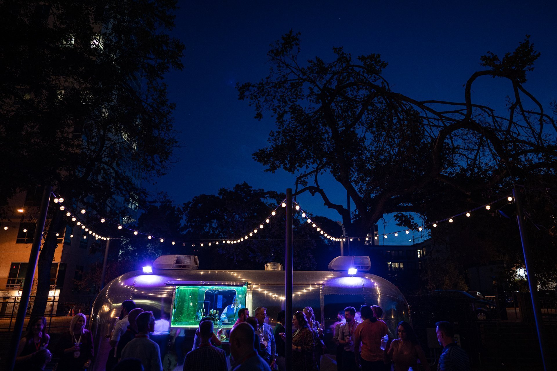 Event Photography Madison WI Vintage Trailer Night