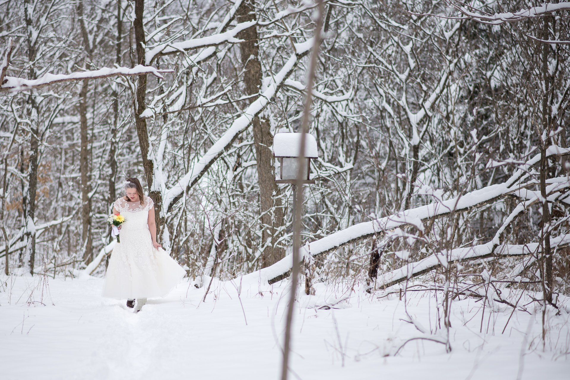 Madison WI Wedding Photographers Winter