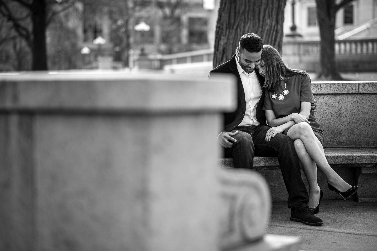 Engagement Photographers Madison WI Couple