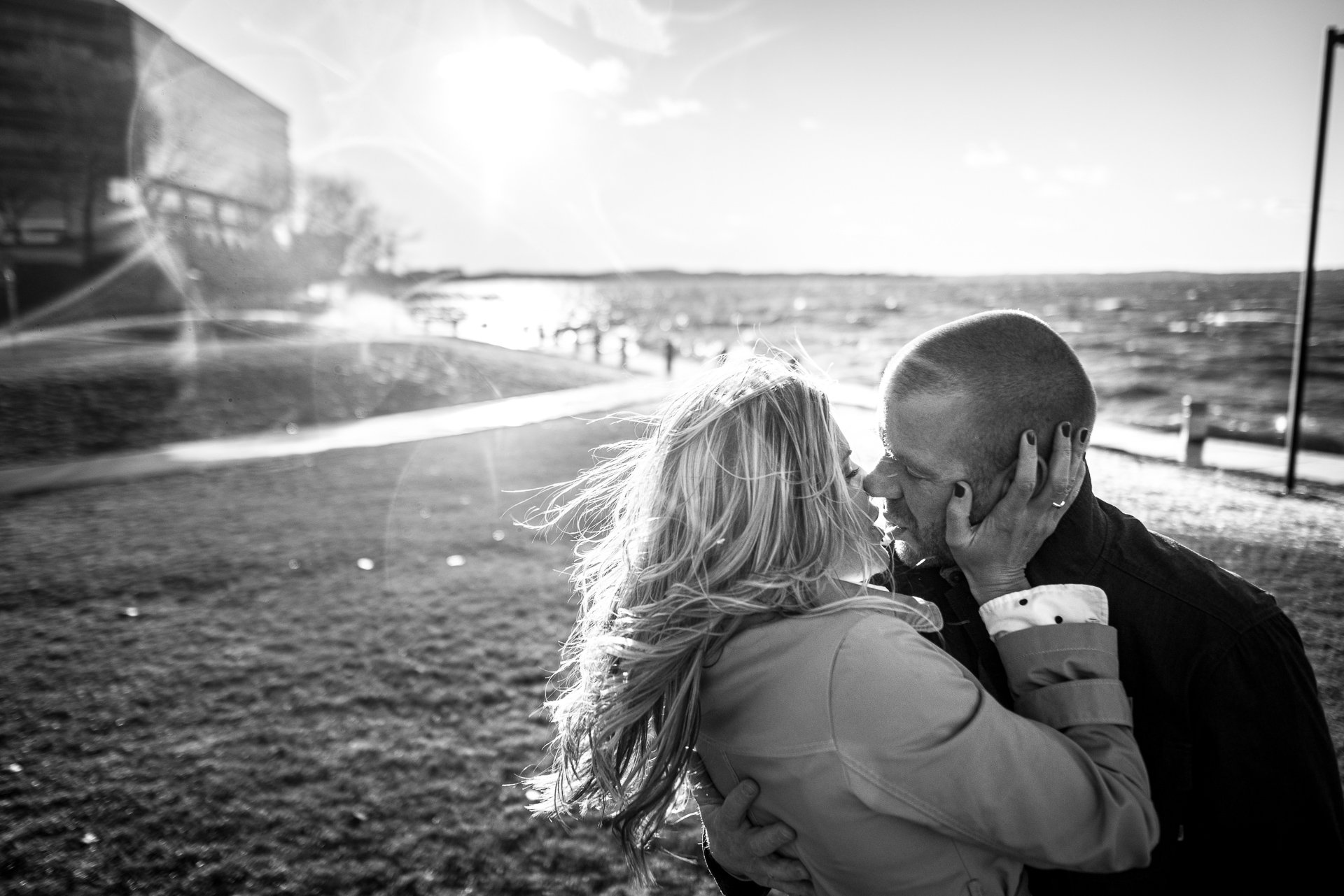 Engagement Photographers Madison WI Kiss