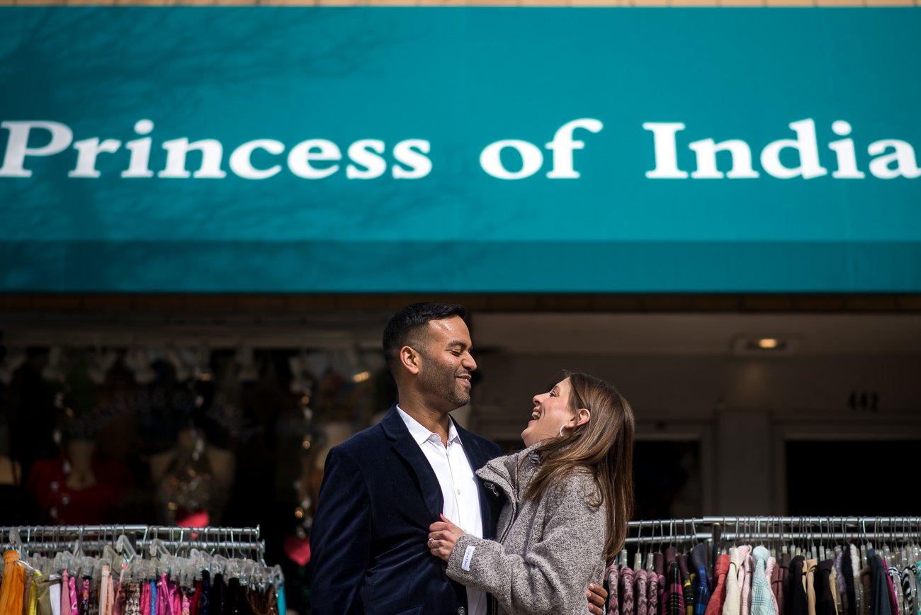 Engagement Photographers Madison WI Princess India
