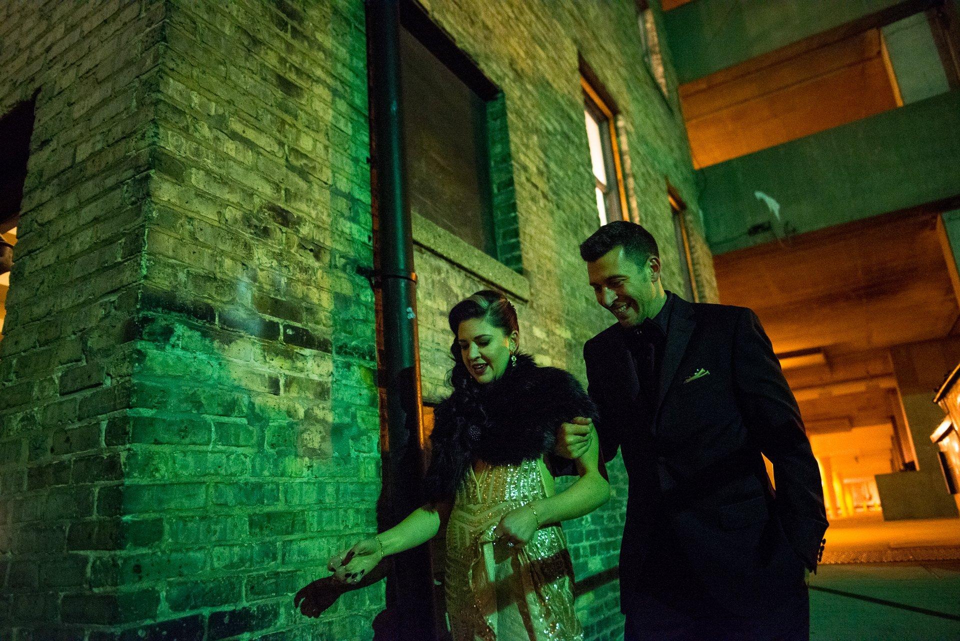 Madison WI Wedding Photographers Back Door