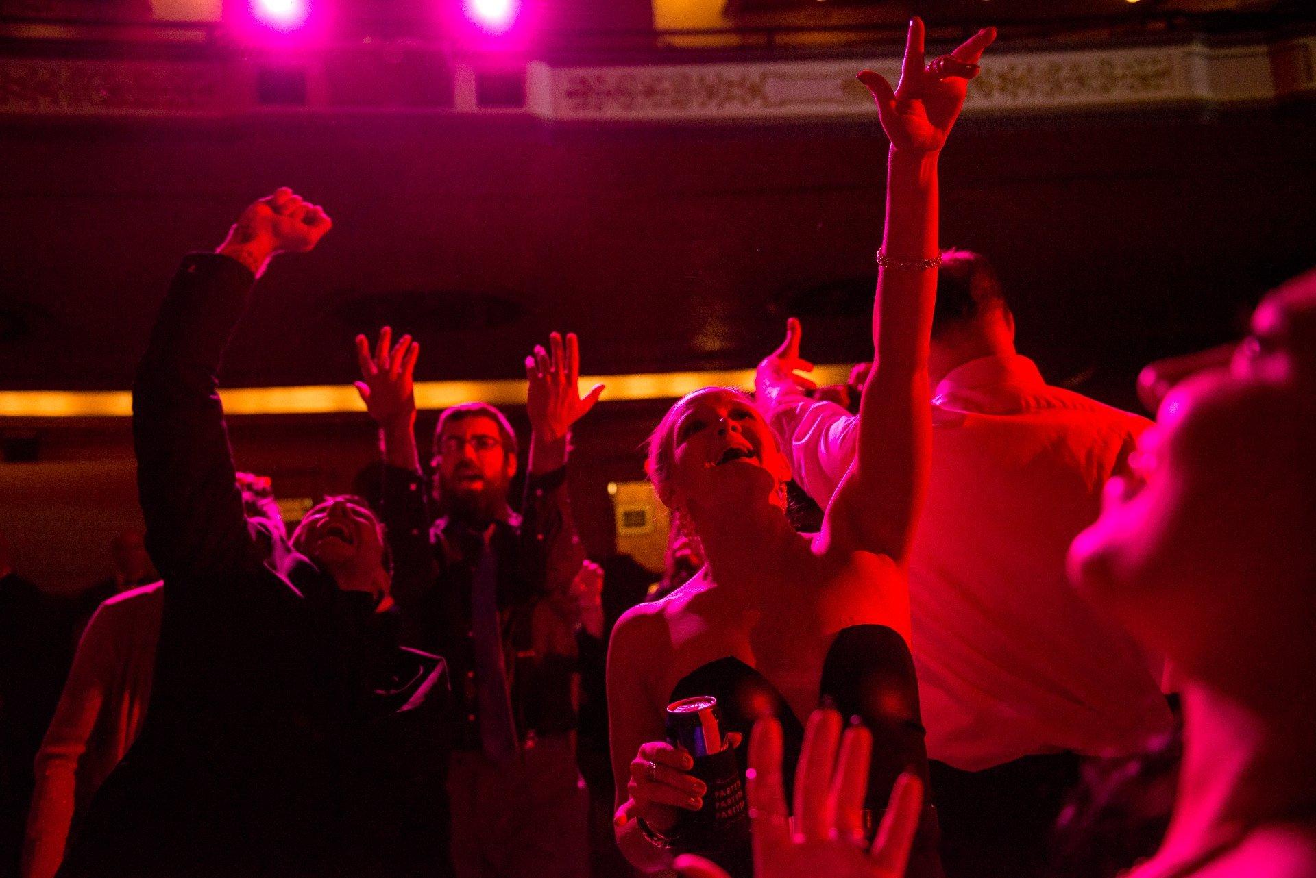 Madison WI Wedding Photographers Dancing Singing