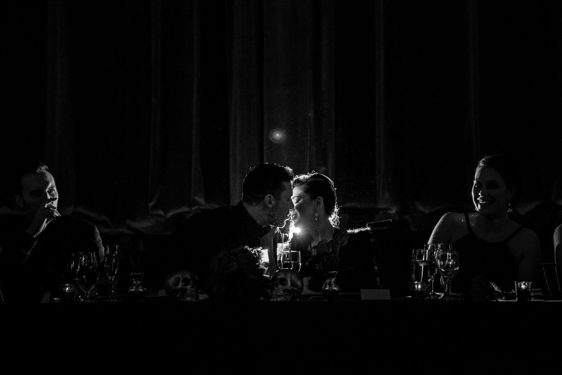 Madison WI Wedding Photographers Kiss