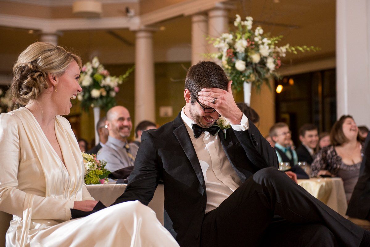 Wedding Photographers Madison WI Embarrassed