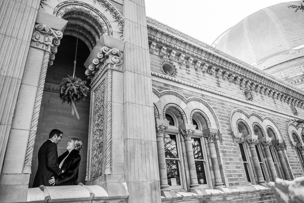 Wedding Photographers Madison WI Yerkes Observatory