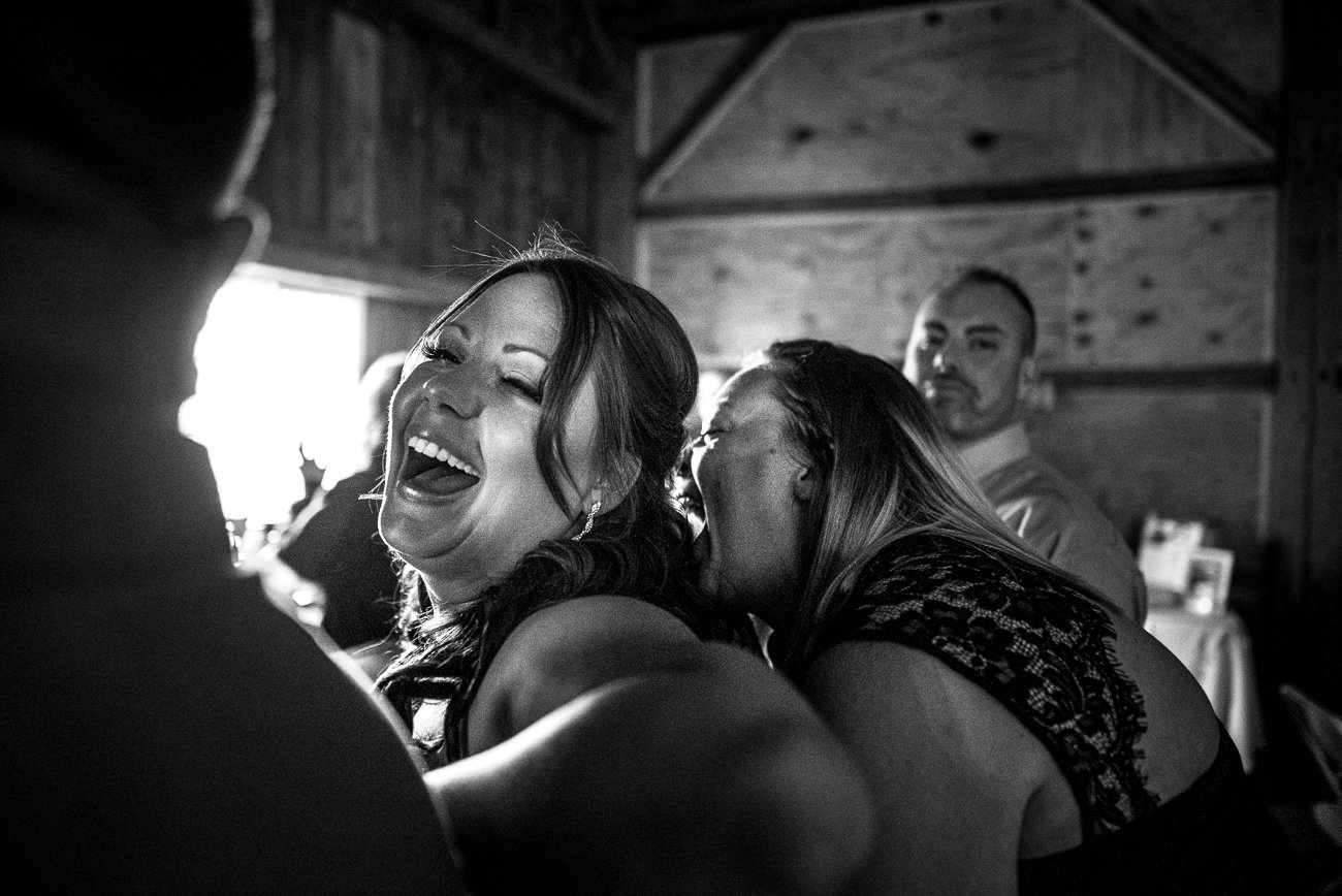 Wedding Photographers Madison WI Bride Laughing