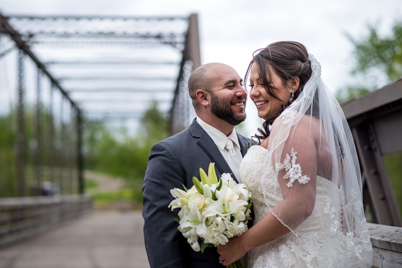 Wedding Photographers Madison WI Couple Smile