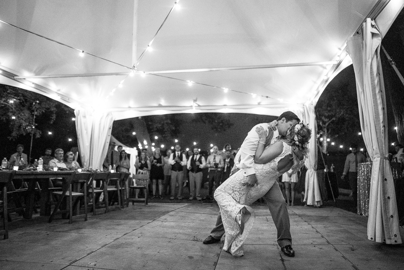 Madison-WI-Wedding-Photographers Dance Dip