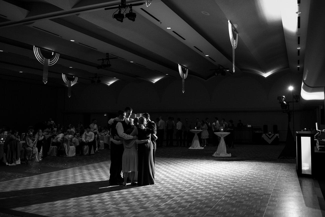 Wedding Photographers Madison WI Family Dance