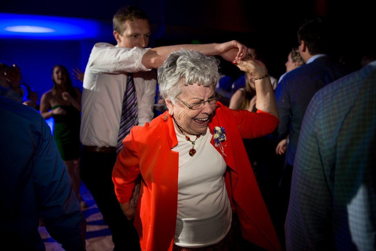 Wedding Photographers Madison WI Grandma Dance