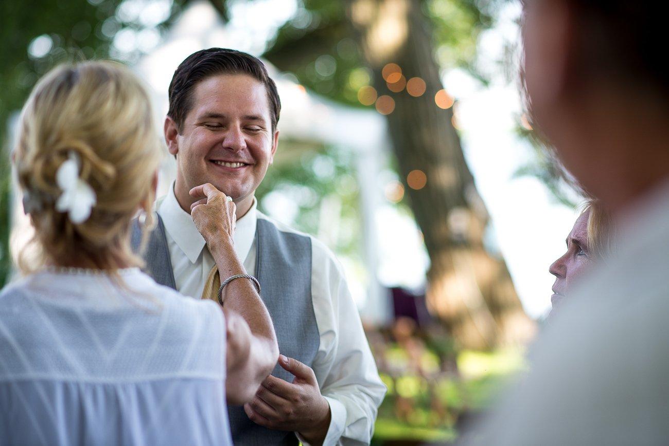Madison-WI-Wedding-Photographers Groom Shave