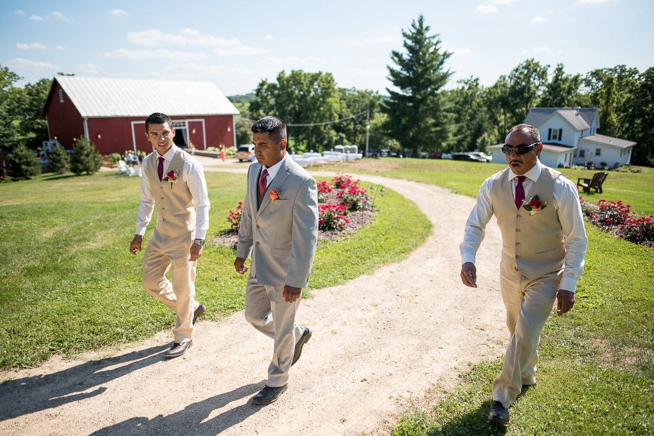 Wedding Photographers Madison WI Groomsmen