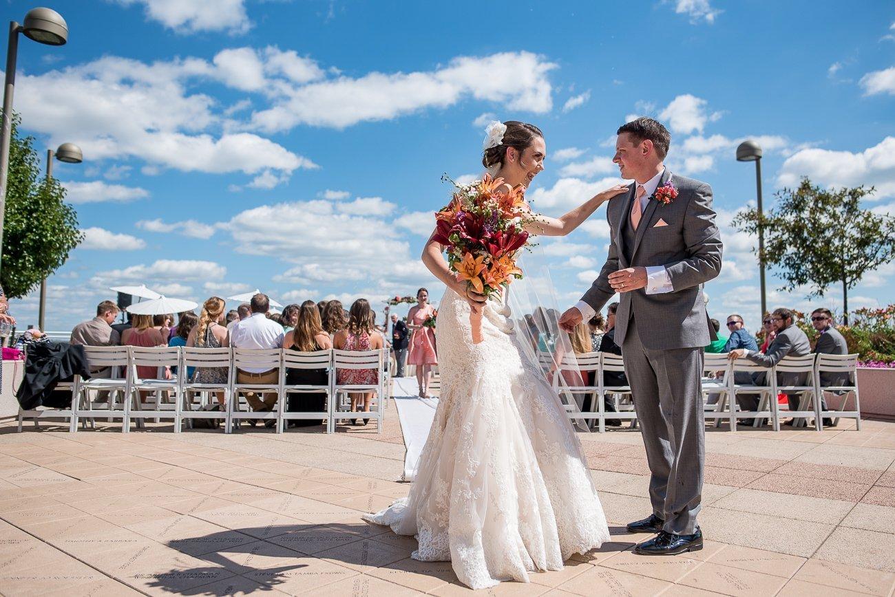Madison WI Wedding Photographers Done Ceremony