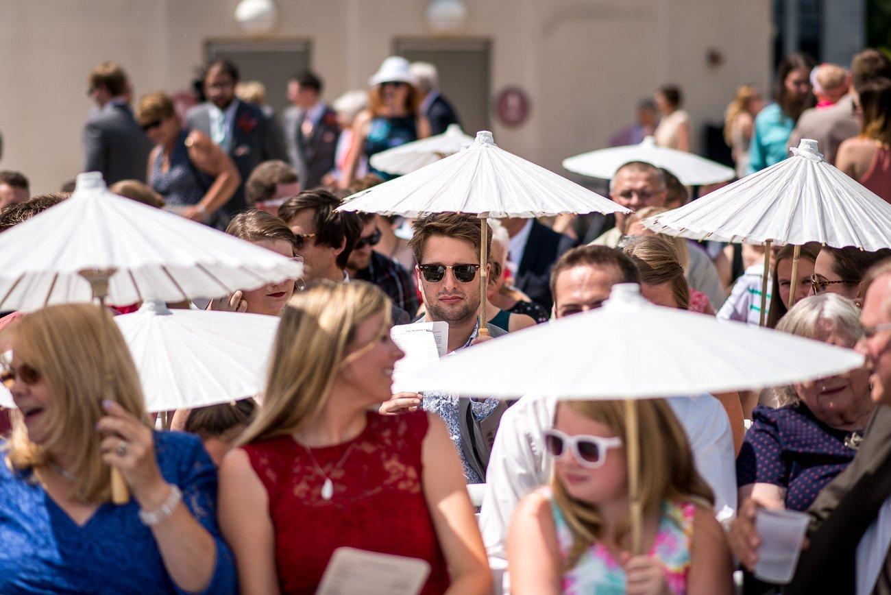 Madison WI Wedding Photographers Chinese Umbrella