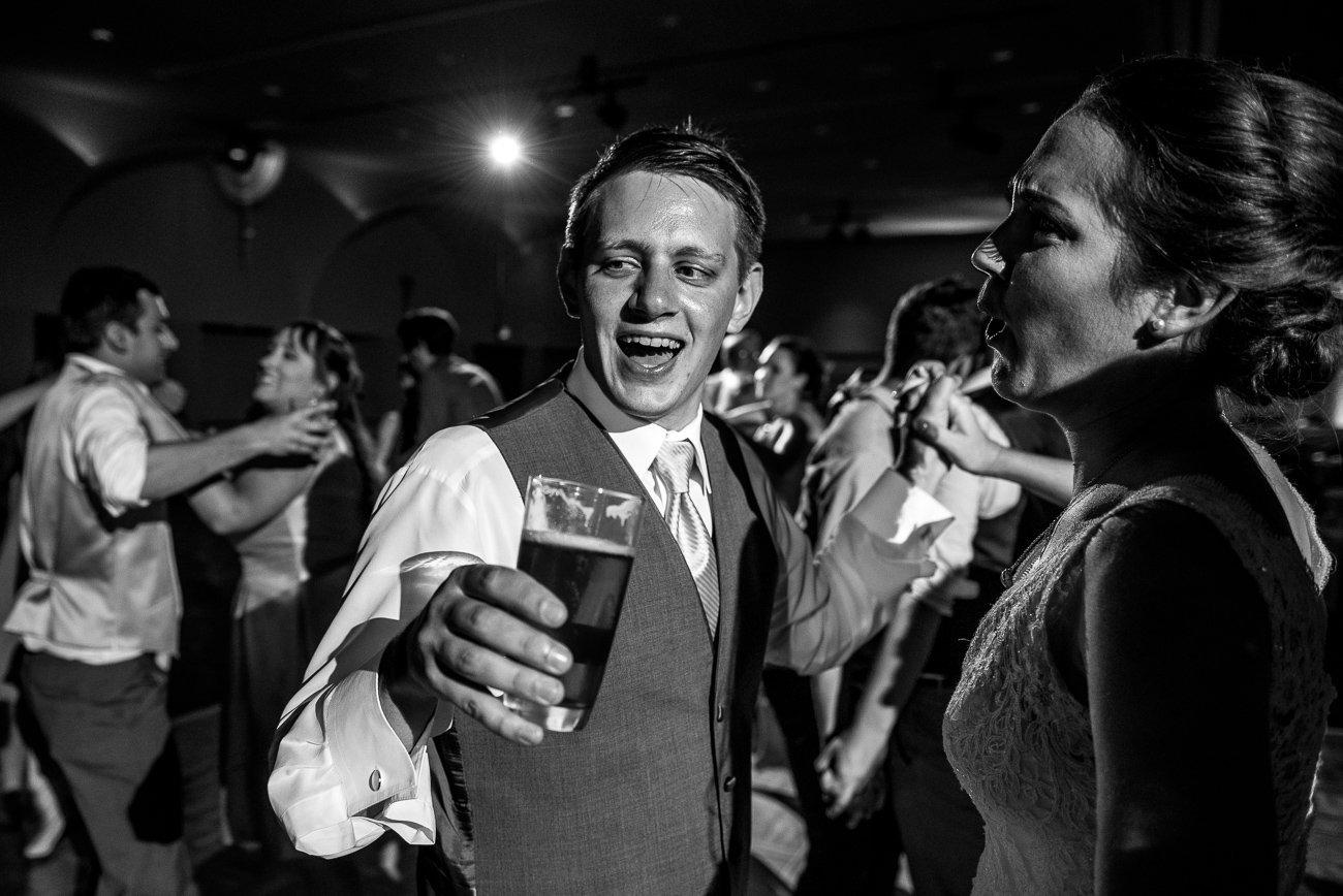 Madison WI Wedding Photographers Couple Dancing