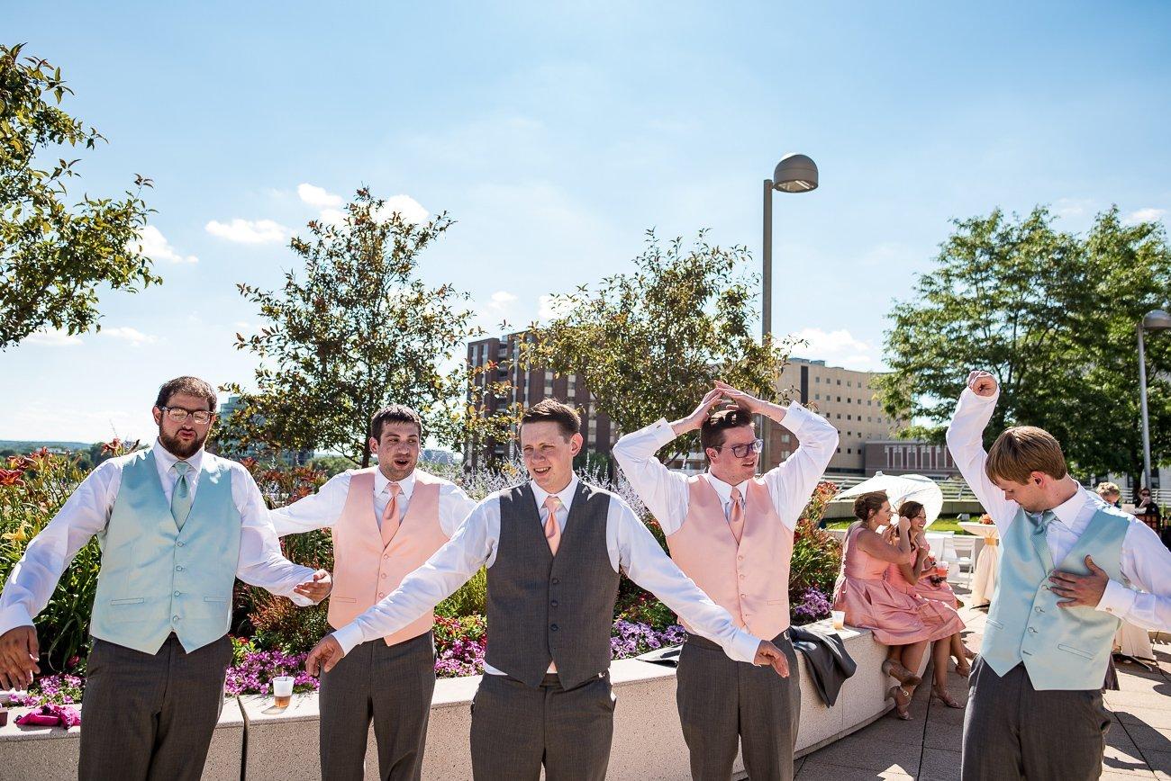 Madison WI Wedding Photographers Hot Day