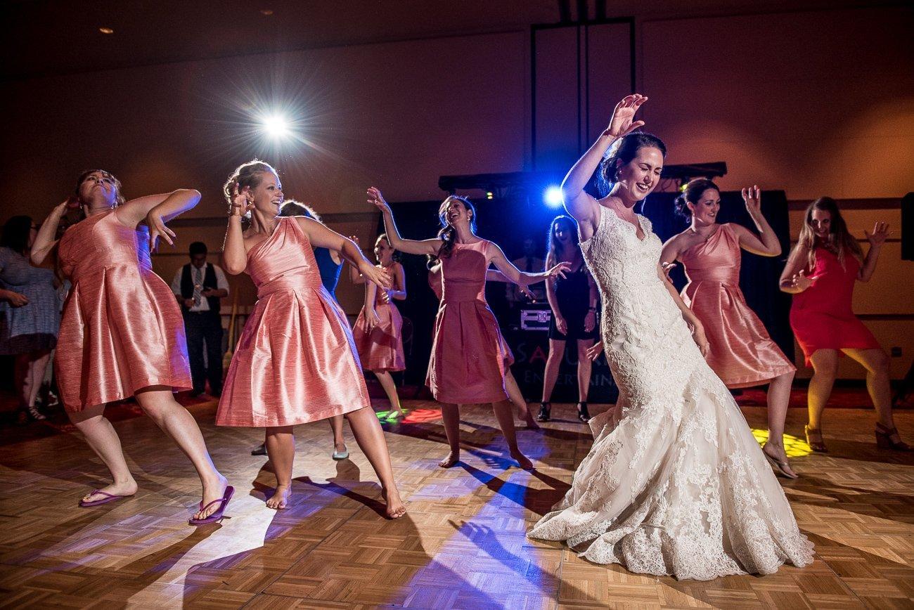Madison WI Wedding Photographers Lady Gaga Dance