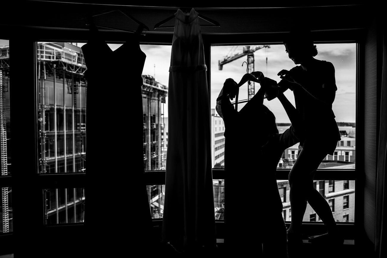 Wedding Photographers Madison WI Dresses Silhouettes