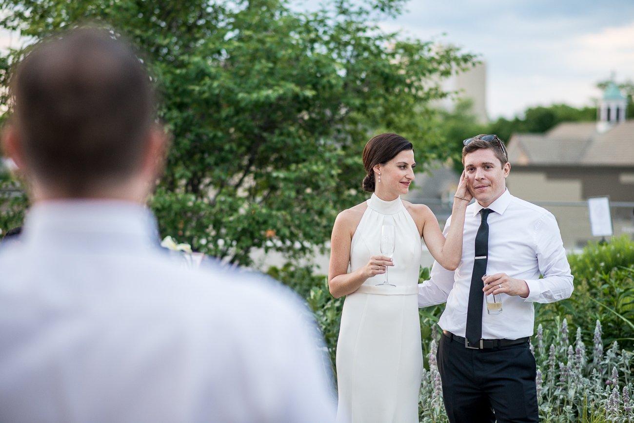 Wedding Photographers Madison WI Groom Cry