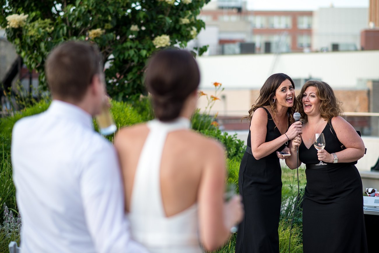 Wedding Photographers Madison WI Maids of Honor