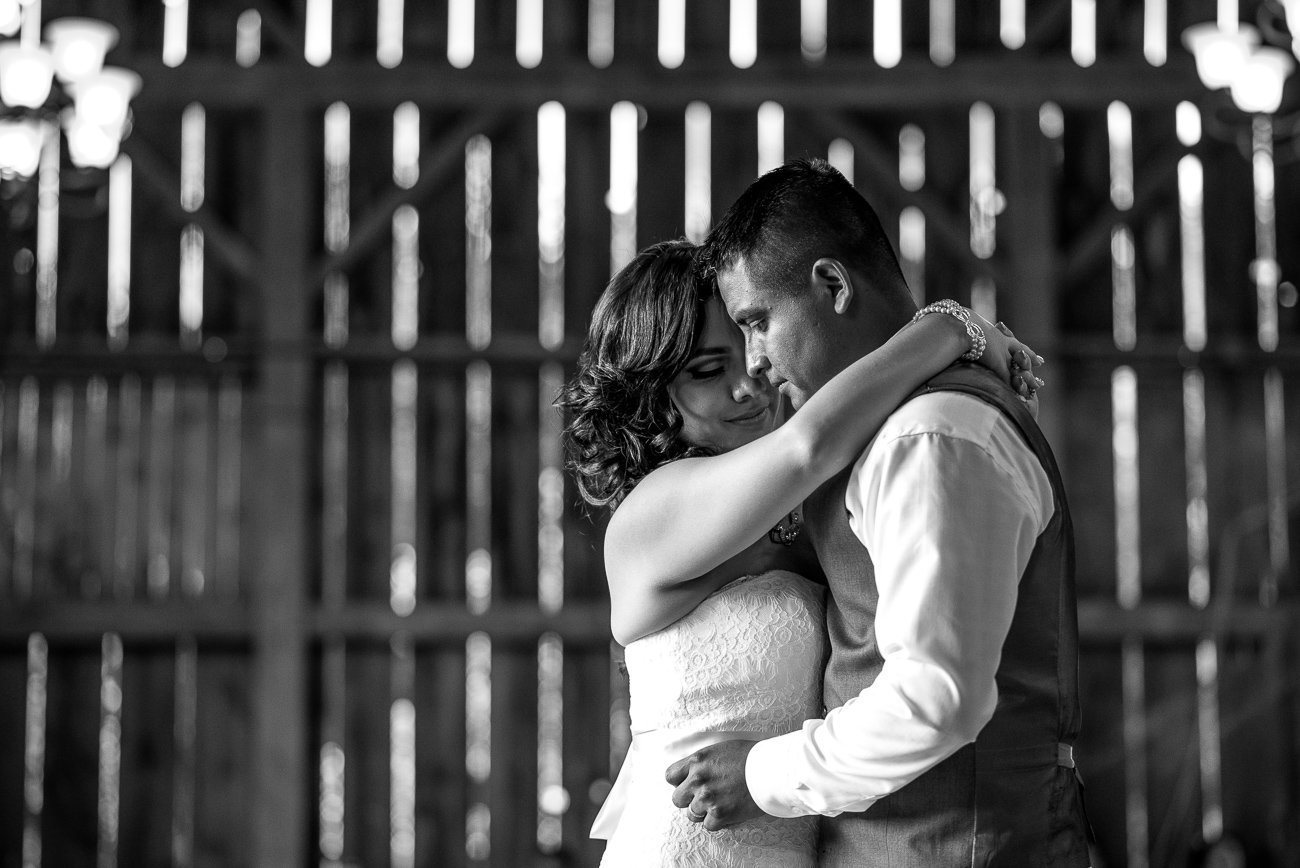 Madison WI Wedding Photographers Couple Slow Dance