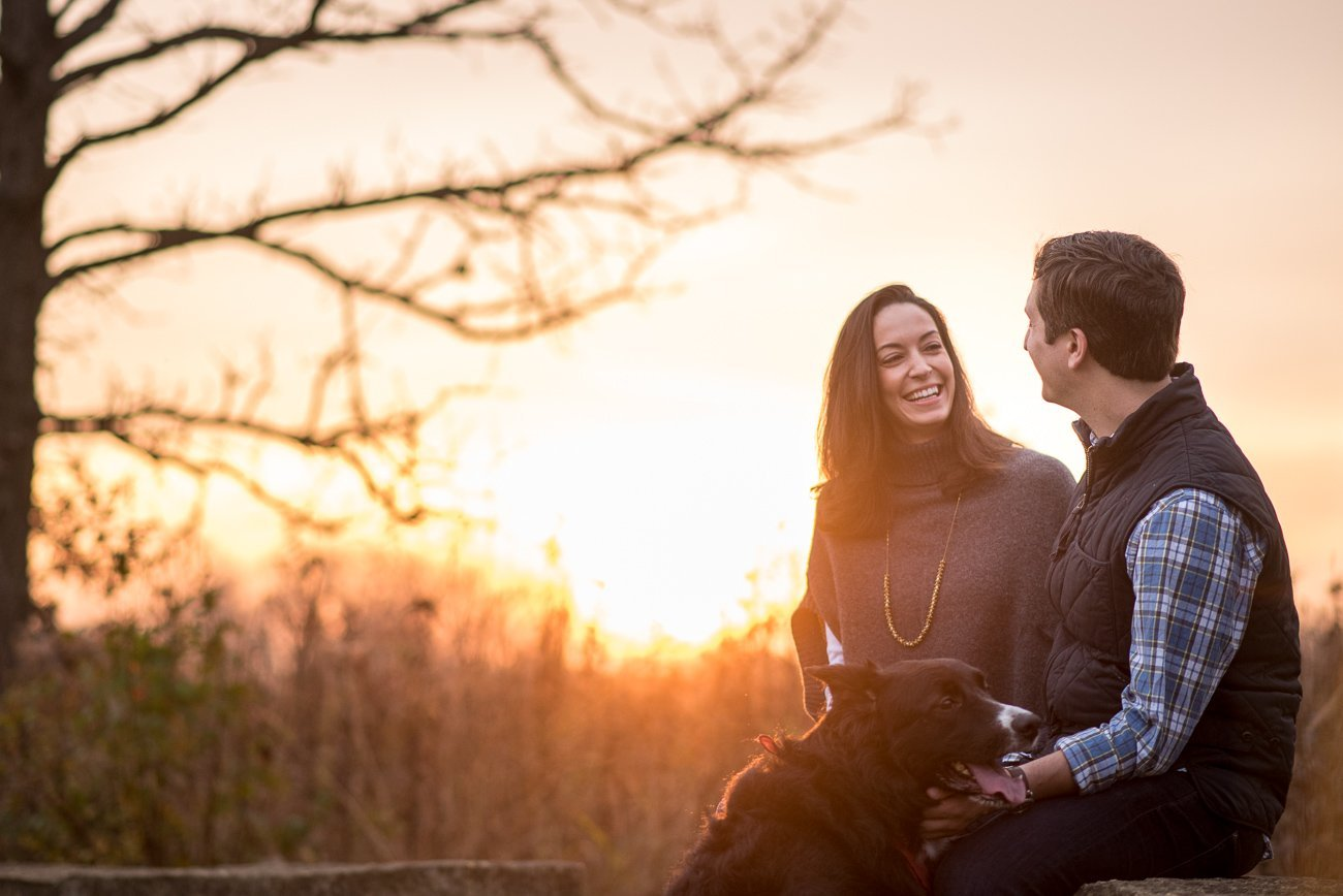 Engagement Photos Madison WI Sunrise Couple