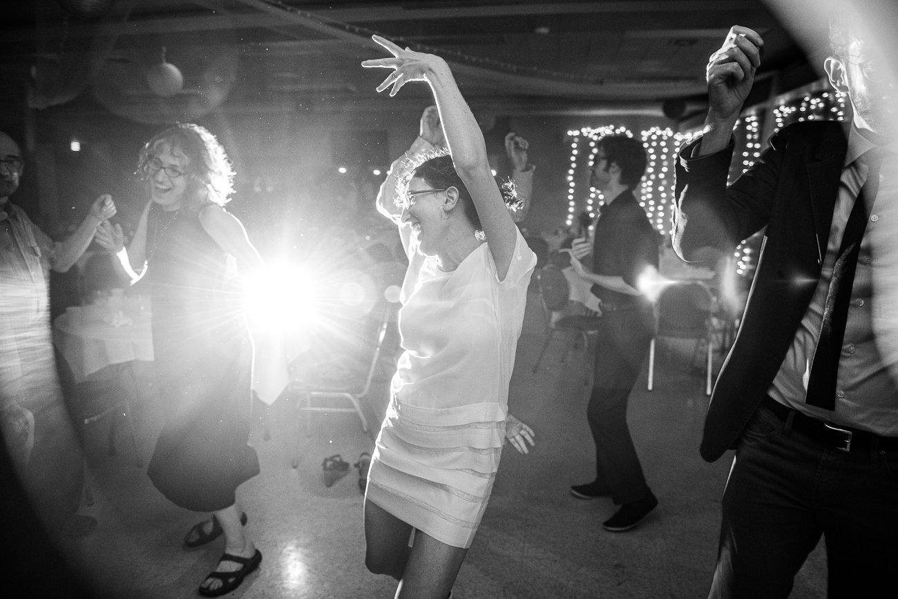 Madison WI Wedding Photographers Bride Dancing