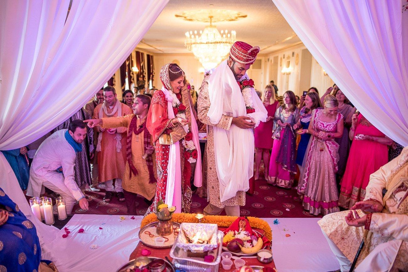 Wedding Photographers Madison WI Couple Hindu