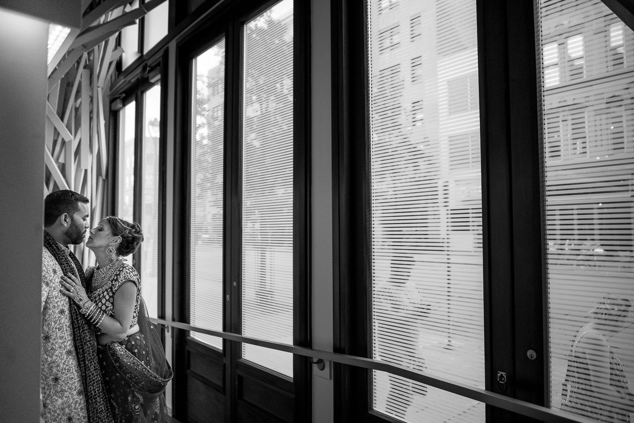Wedding Photographers Madison WI Kiss