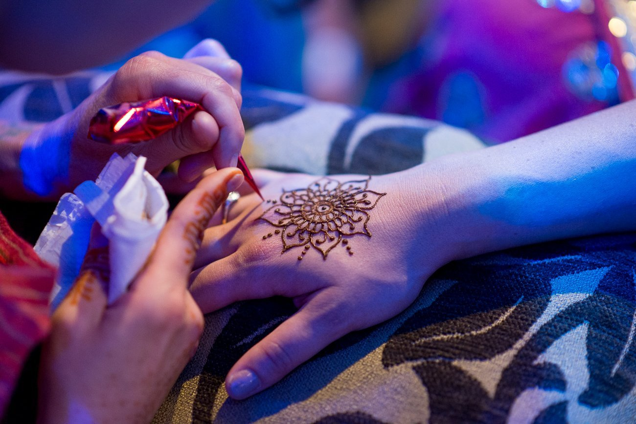 Wedding Photographers Madison WI Henna Hand
