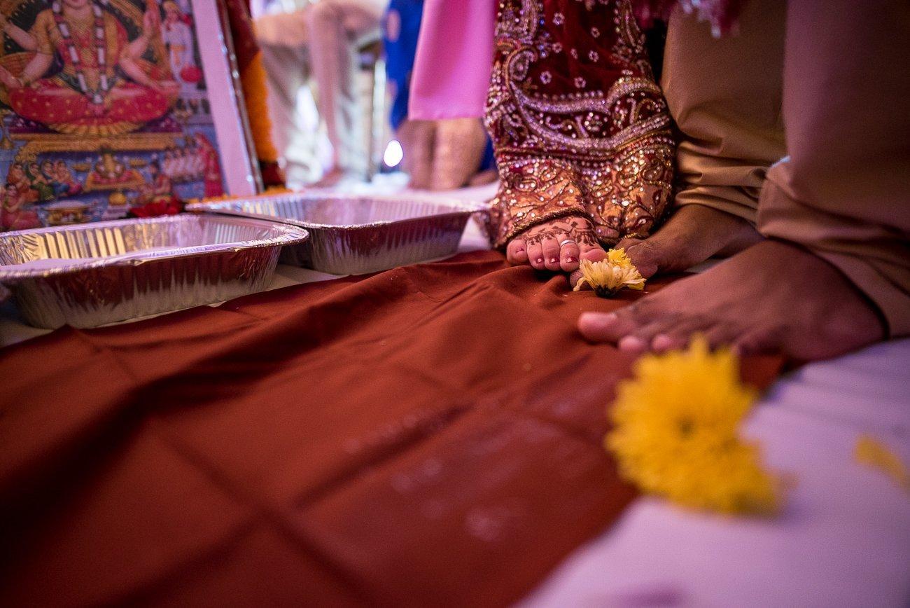 Wedding Photographers Madison WI Hindu Ceremony