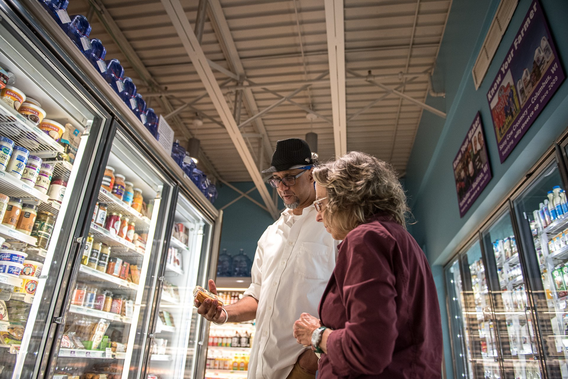 Editorial Photography Madison WI Grocery Shopping