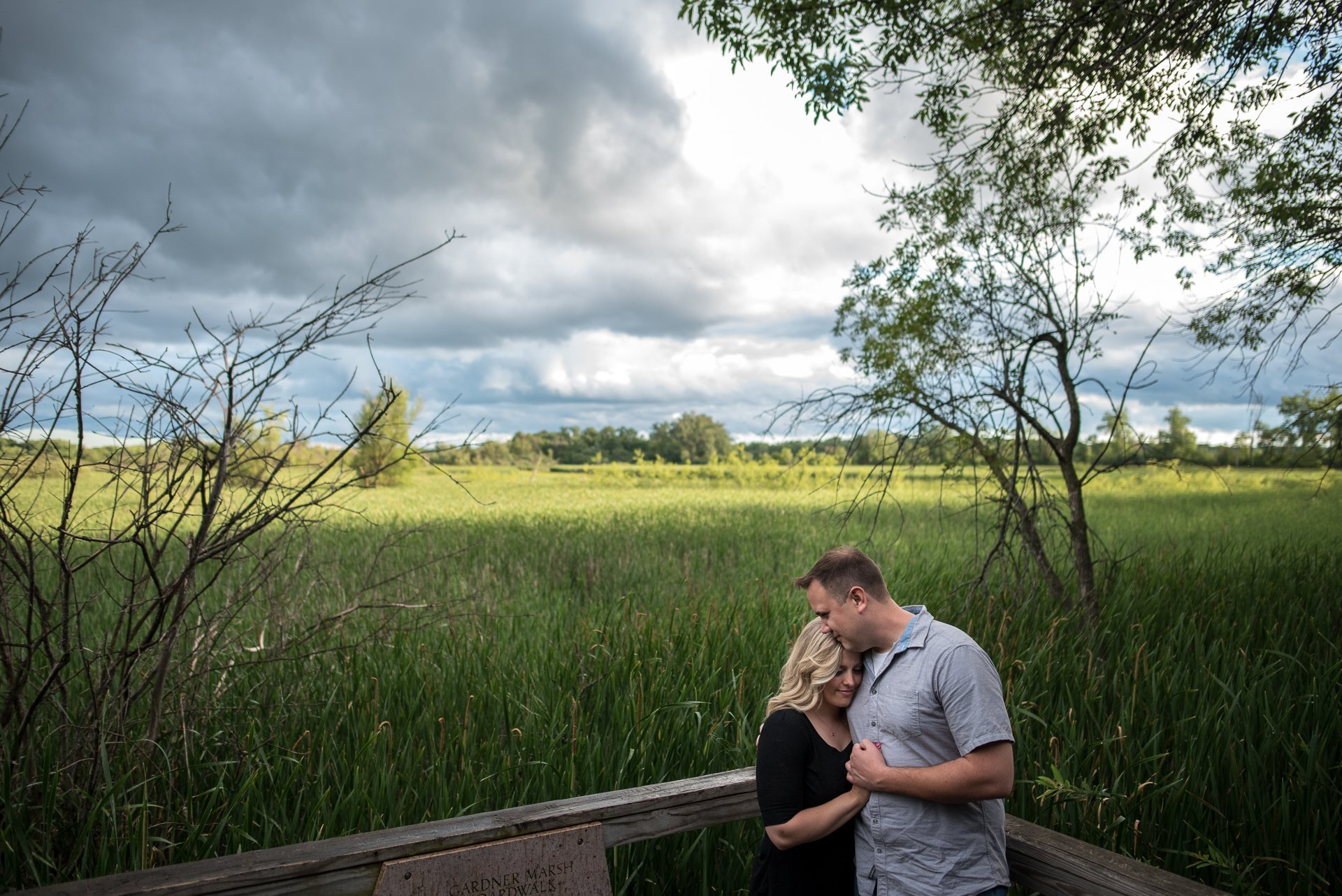 Engagement Photographers Madison WI Marshal