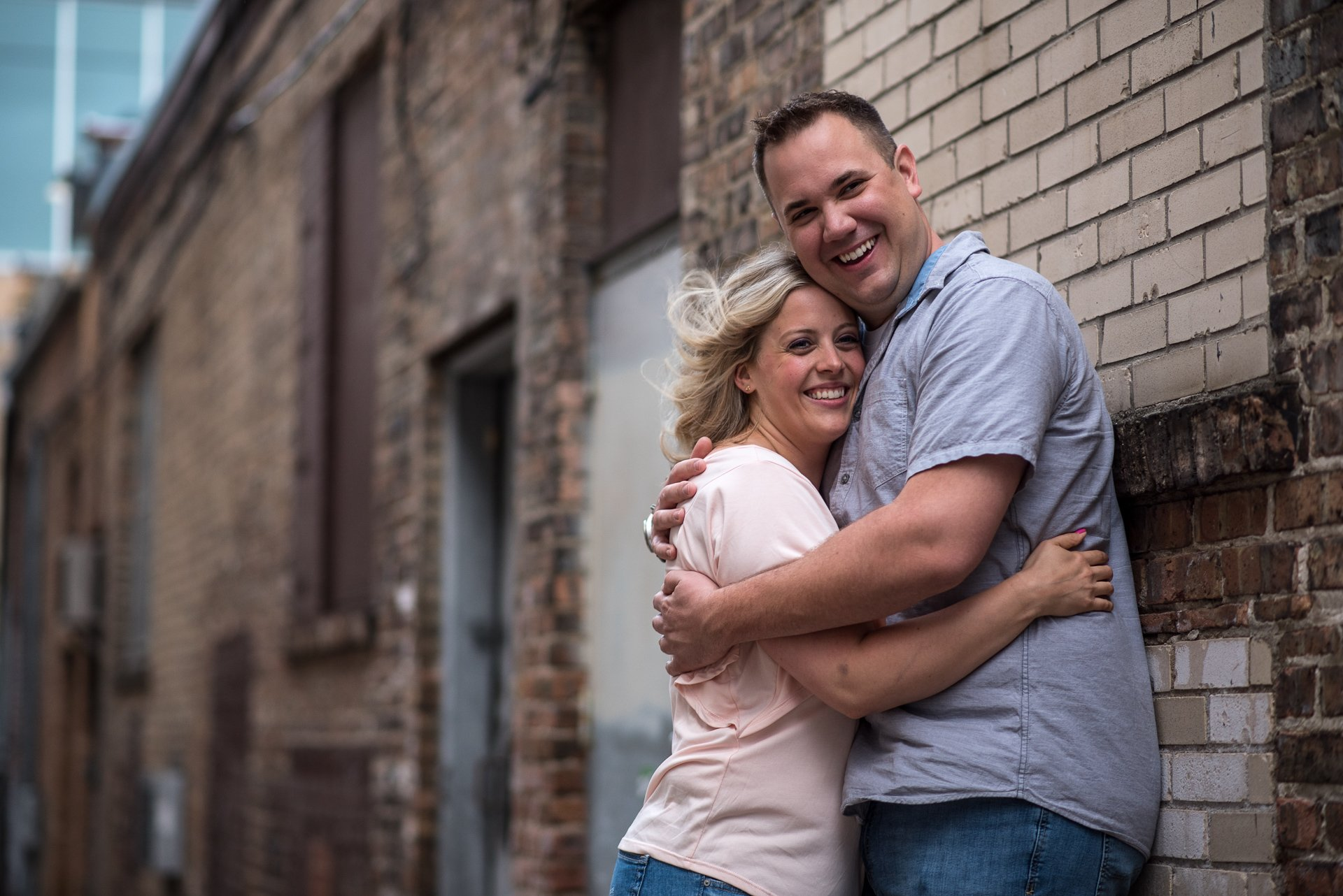 Engagement Photographers Madison WI Portrait