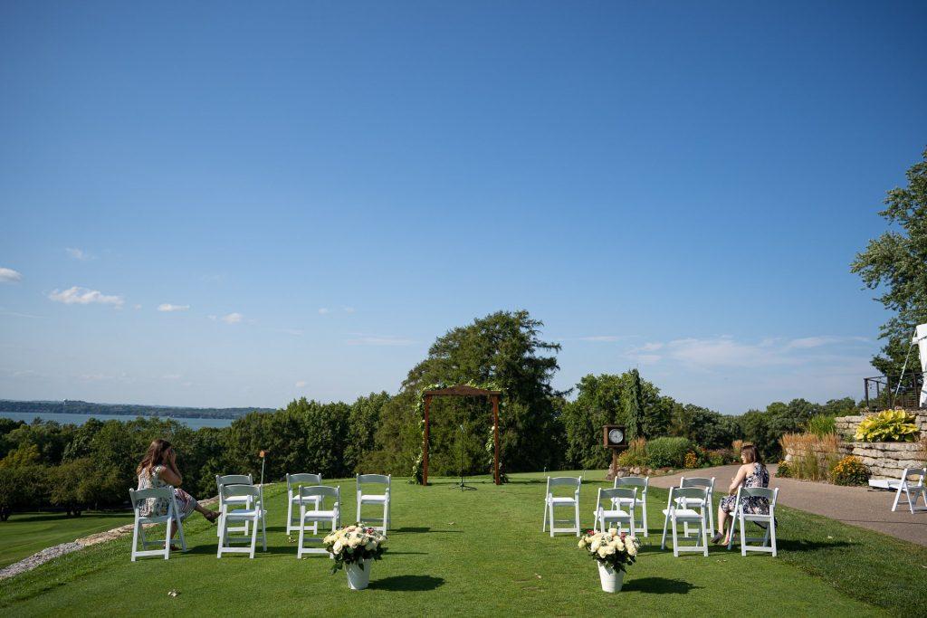 Blackhawk Country Club Wedding Ceremony