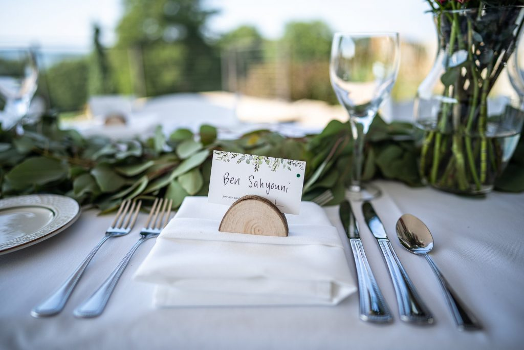 wedding table decoration in Madison WI