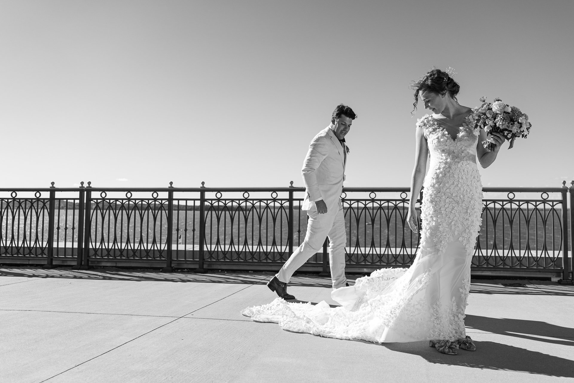 wedding portrait in madison wisconsin