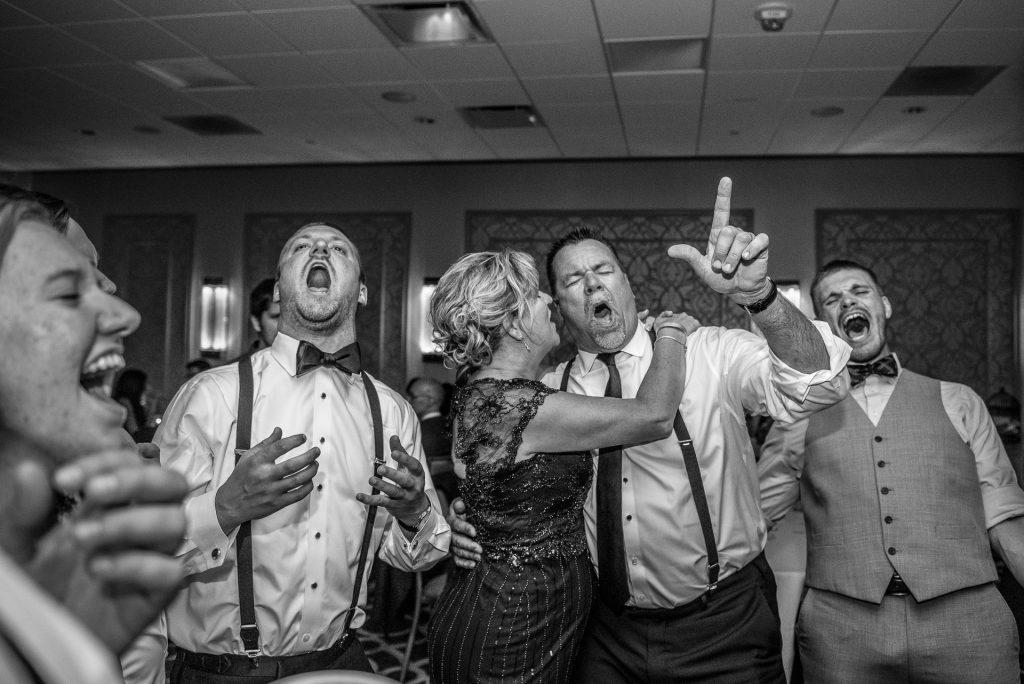 Wedding Photographers Madison WI Dad Singing