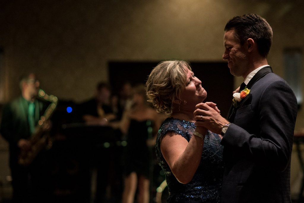 Wedding Photographers Madison WI Mother Son Dance