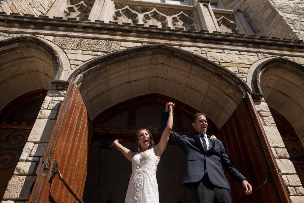 Wedding Photographers Madison WI Newly Weds