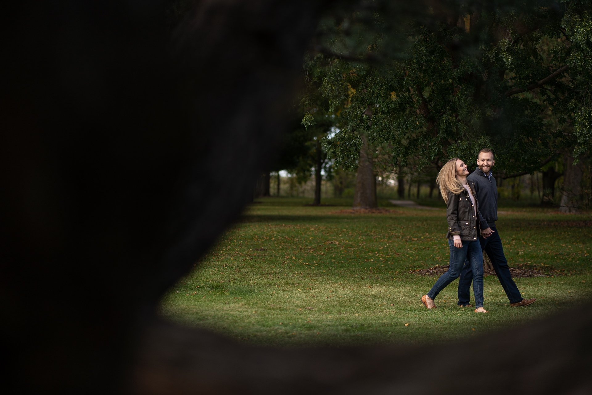 sheboygan wi couple walking