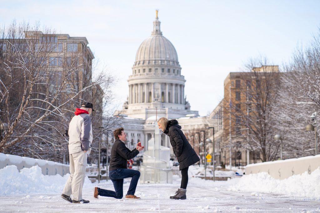 Engagement Photographers Madison WI Proposal