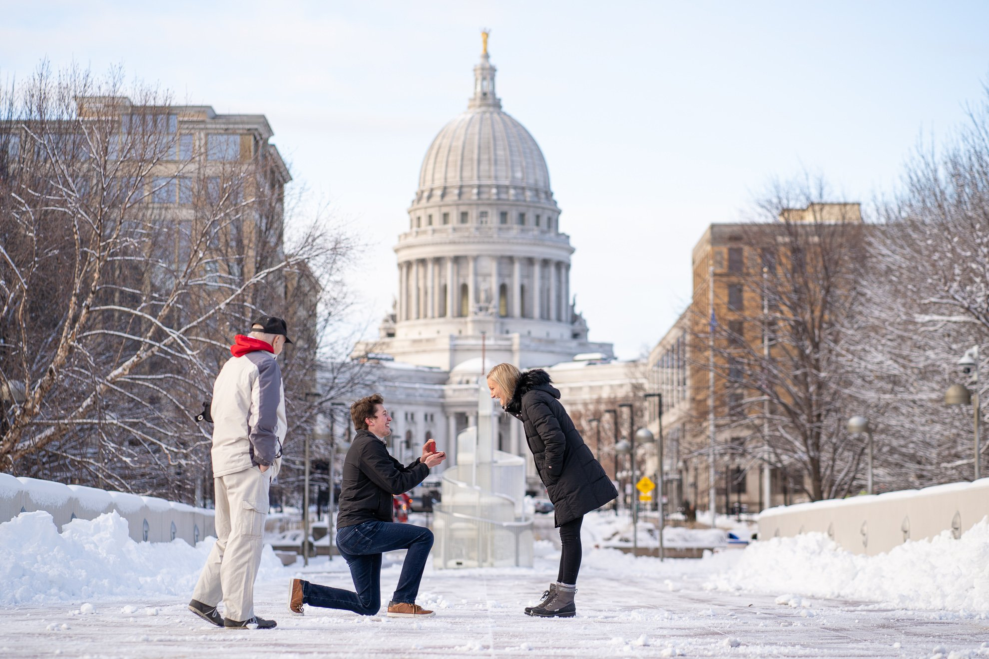 Engagement Photographers Madison WI Proposal