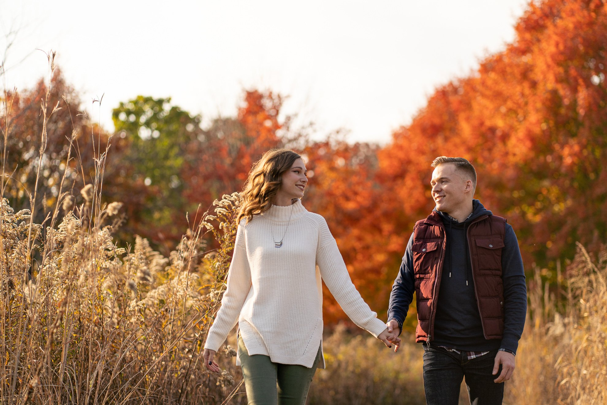 Engagement Pictures Madison WI Fall Aldo Leopold