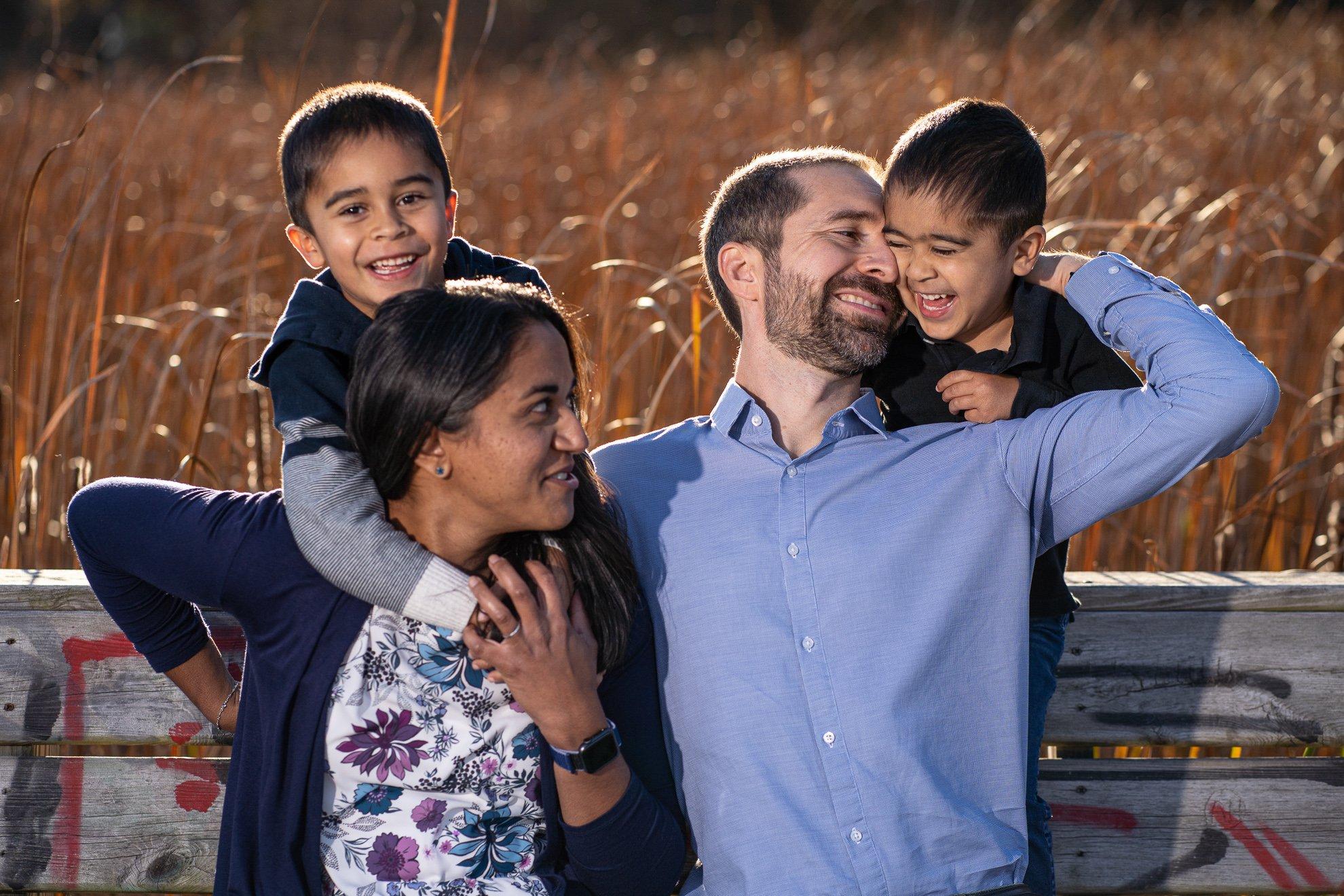 Family Photographers Madison WI Boys